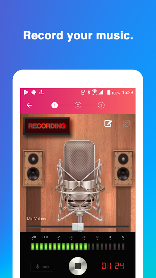Record your music, sing - nana- screenshot