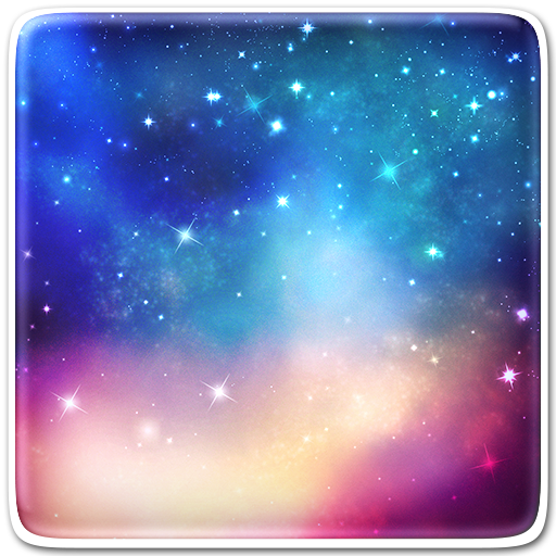 Flying Stars Live Wallpaper Icon