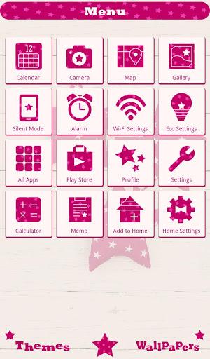 Pink Stars wallpaper 1.0.0 Windows u7528 2