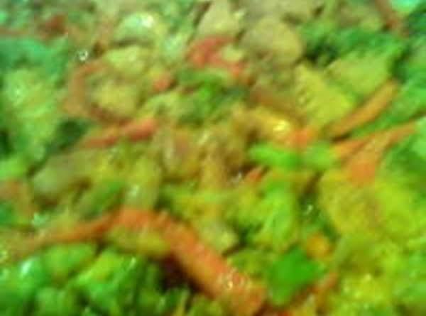 Faye's No Carb Chicken And Veggie Stirfry