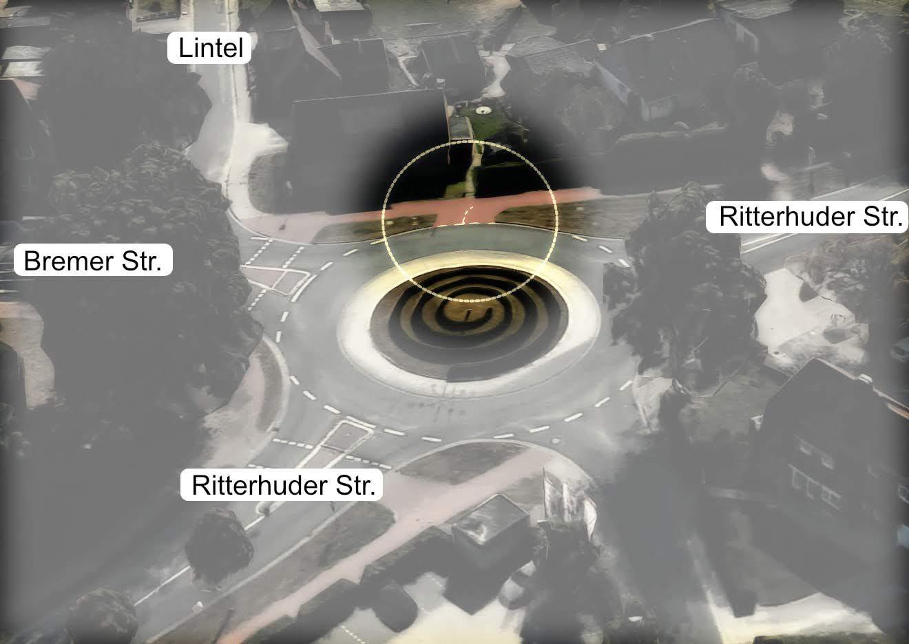 Radweg Ritterhuder Strasse