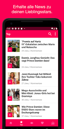 Promiflash News screenshot