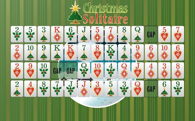 Christmas Solitaire.Christmas Solitiare