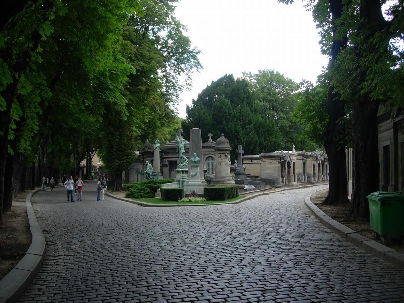 Cimetière Père Lachaise à Paris