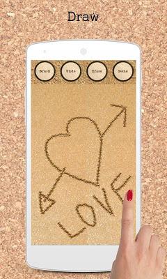 Write on Beach (Sand) - screenshot