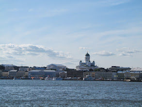 Photo: The Helsinki harbor