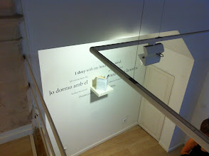 """Photo: Book installation (2011) from """"my country is a Living Room"""" 2011"""