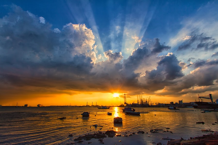 by Lb Chong Jacobs - Landscapes Cloud Formations ( pwcsunbeams )