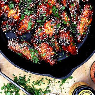 Deep-Fried Chicken Wings.
