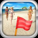 Beach Flag Paradise icon