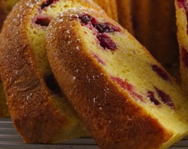 Cranberry-orange Pound Cake Recipe