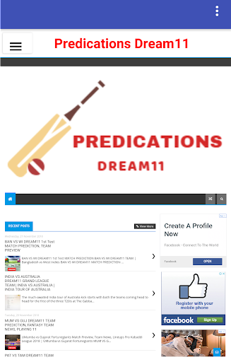Dream11 Prediction Pro 1.0 screenshots 1