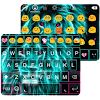 Light Lion Emoji Keyboard Skin
