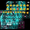 Light Lion Emoji Keyboard Skin icon