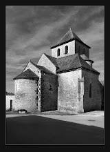 Photo: 11th C. Romanesque Church - Rampoux, France