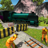 Train Station Construction Build Railway Simulator
