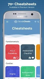 ScrubCheats - Nursing School & NCLEX Cheatsheets - náhled