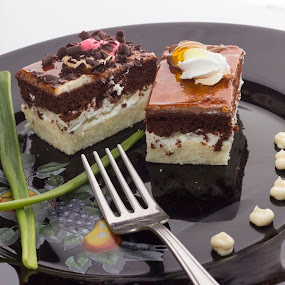 dessert by Paul Ortega - Food & Drink Eating ( sweets, cakes, eating, yummy, dessert )