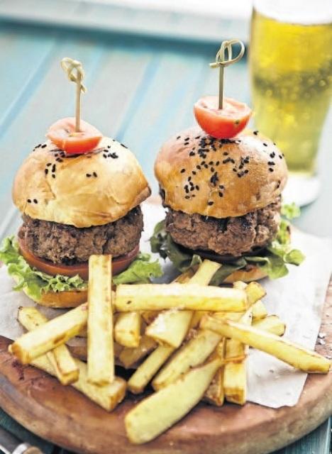 Recipe Gourmet Bobotie Burgers
