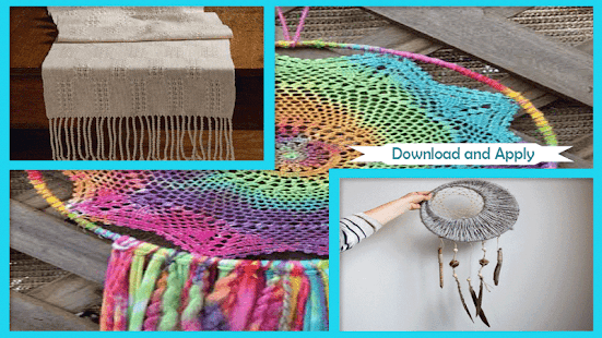1000 DIY Weaving Projects - náhled