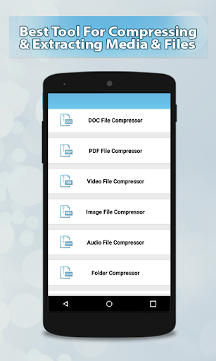 Files Compress & Unrar Files Easy App Report on Mobile