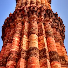 qutub minar by Ashutosh Singhvi - Uncategorized All Uncategorized ( history, ancient, mughal, qutub, delhi )