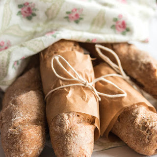 Homemade Mini French Baguettes