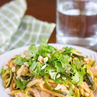 Kung Pao Chicken Zoodles.