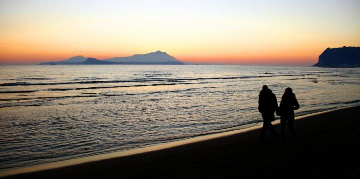 Passeggiando al tramonto di insonnia