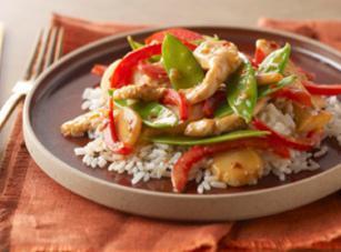 Kraft's Firecracker Chicken Stir-fry Recipe