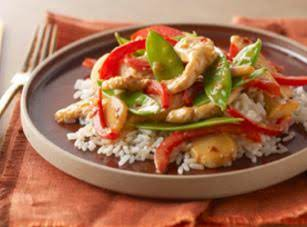 Kraft's Firecracker Chicken Stir-fry Recipe