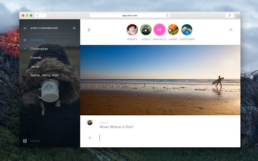 Wire — Messaging. Reborn.