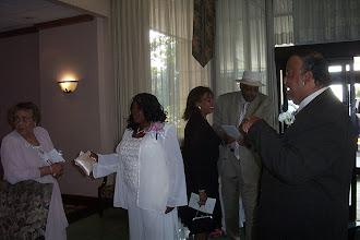 Photo: Tanesha's grandmother Dorothy, Mommy, Linda, Leonard, & Ron