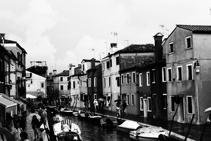 Burano in Black and White di simotuttergreen