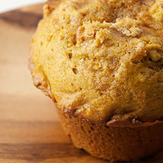 2-Minute Gluten-Free Paleo Pumpkin Microwave Muffins.