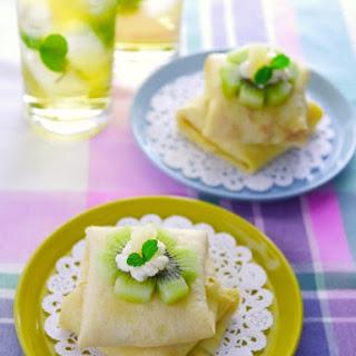 Healthy Silken Tofu Crepe