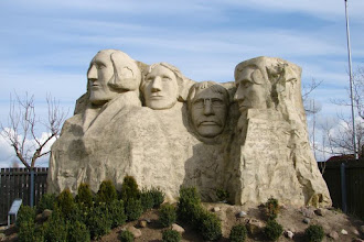 Photo: Rügen Park Gingst - Mount Rushmore (USA)