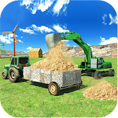Tractor Farm & Excavator Sim Android APK Download Free By Glow Games