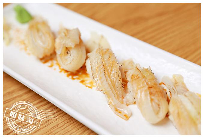 大手町日本料理炙燒比目魚握壽司2