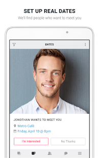 Clover Dating App Screenshot
