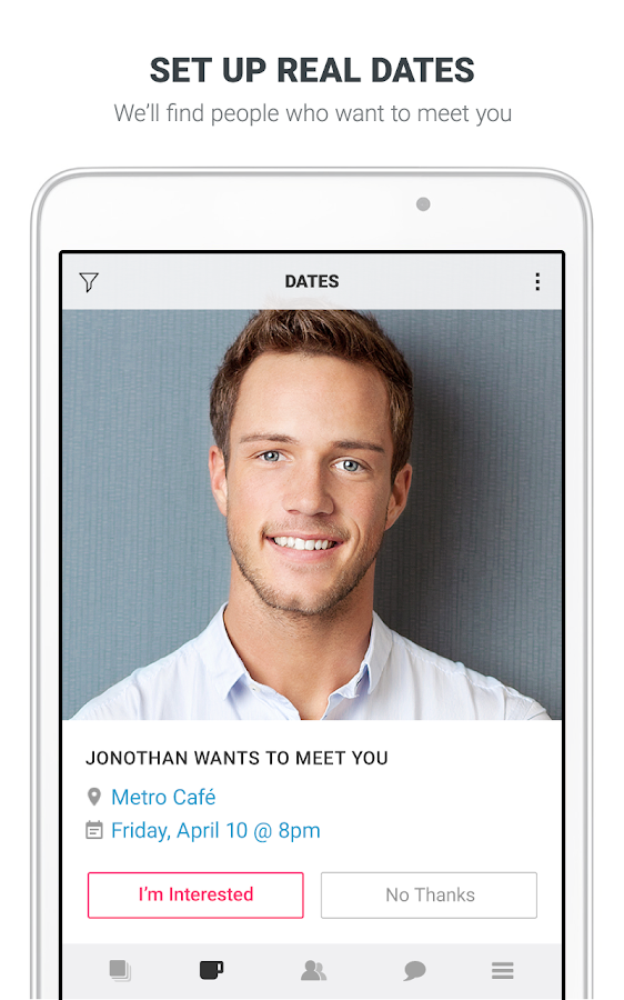 Clover Dating App- screenshot