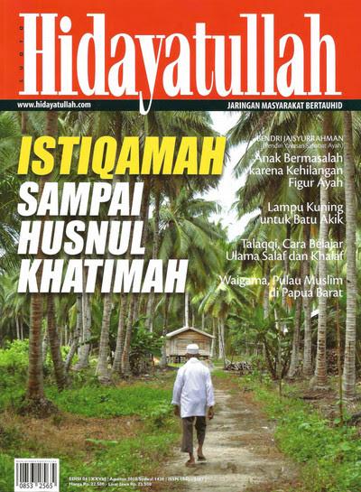 Hidayatullah Edisi Agustus 2015