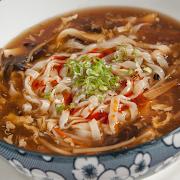 Hot & Sour Soup Noodle (Chicken)