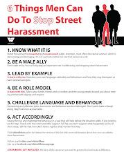 Photo: Learn more: http://www.whiteribbon.ca/street-harassment/