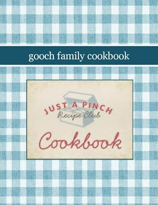 gooch family cookbook