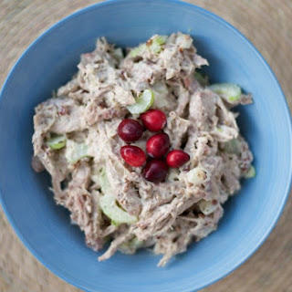 Thanksgiving Leftovers Turkey Salad