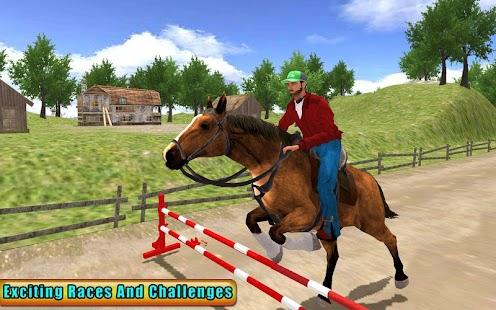 US Horse Ridding Championship 3D - náhled