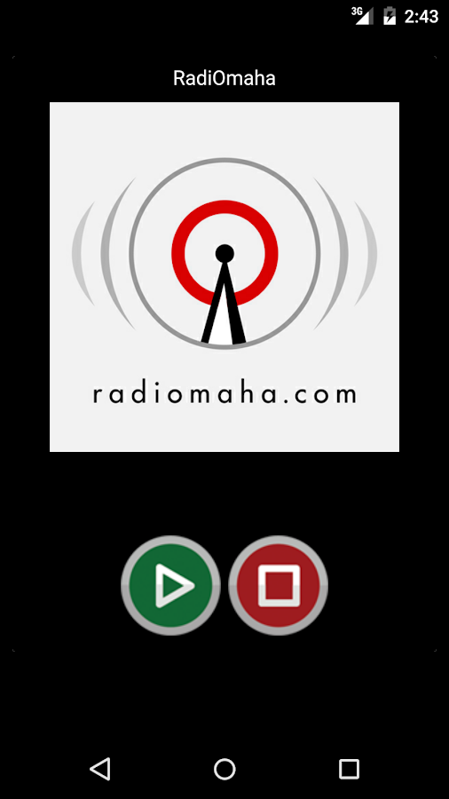 RadiOmaha- screenshot
