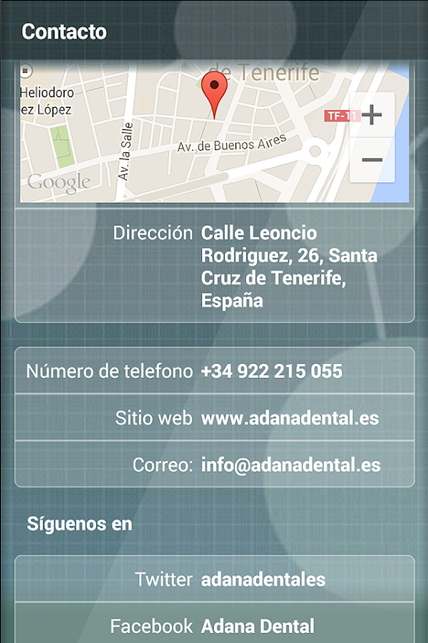 Adana Dental APP- screenshot