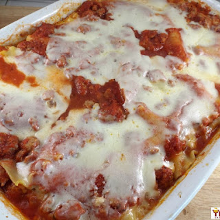 Turkey and Spinach Lasagna.